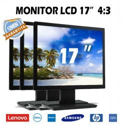 """MONITOR LCD 17"""" 4:3"""