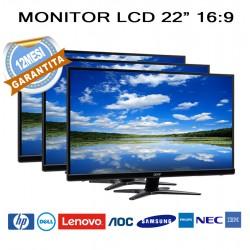 """MONITOR LCD 22"""" 16:9"""